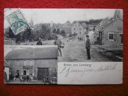 LEMBERG MOSELLE GRUSS AUS LEMBERG - Autres Communes