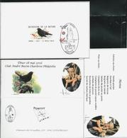 Fac-Smilé    Dîner 08 Mai 2016  (pas De Timbre (copie !!!) - 1985-.. Oiseaux (Buzin)