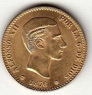 ESPAÑA - 10 PESETAS DE ORO  1876-62* - [ 1] …-1931 : Kingdom