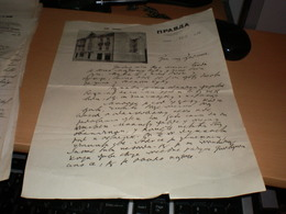 Beograd Nezavisni Dnevni List Pravda Dom Pravde Independent Daily Newspaper Pravda Dom Pravde 1937 - Invoices & Commercial Documents