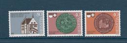 Timbre Neuf** De Suisse, N°1132-34 Yt , La Diète De Stans Entrée De Fribourg Dans La Confédération, Sceau.. - Suisse