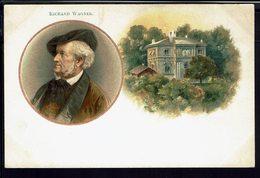 THEMES - Carte Postale Illustrée, En Médaillon Richard Wagner - B/TB - - Singers & Musicians