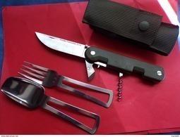 Véritable Couteau Multifonction NG TATOO Armée Française / Legion - NEUF 2016  Authentique Couteau Militaire Nouveau Mod - Armes Blanches