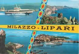 MILAZZO - LIPARI - SERVIZIO RAPIDO ALISCAFI - Other Cities