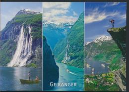 °°° 13035 - NORWAY - GEIRANGER - 2018 With Stamps °°° - Norvegia