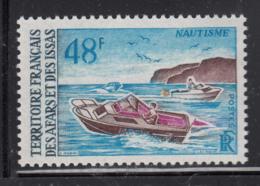 Afars & Issas 1970 MNH Scott #344 48fr Motorboats - Afars Et Issas (1967-1977)