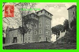 SAINT-JEAN-DE-NIOST (01) - LE CHÂTEAU DE GOURDANS - CIRCULÉ EN 1912 -S'il Vous Plaît Jeter Un Coup D'oeil à Mon Magasin - Belley