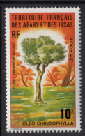 Afars & Issas 1974 MNH Scott #376 10fr Oleo Chrysophylla - Afars Et Issas (1967-1977)