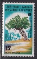 Afars & Issas 1974 MNH Scott #377 15fr Ficus Species - Afars Et Issas (1967-1977)
