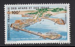 Afars & Issas 1972 MNH Scott #C61 100fr New Djibouti Harbour - Afars Et Issas (1967-1977)