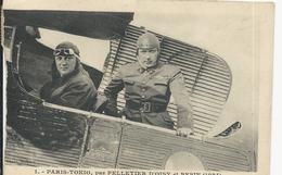 Paris -Tokio Par Pelletier D'Oisy Et Besin En 1924 - Aviateurs