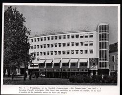 1947  --  ARHNEM  IMMEUBLE SOCIETE D ASSURANCES DE NEDERLANDEN  VAN 1845  3Q445 - Non Classés