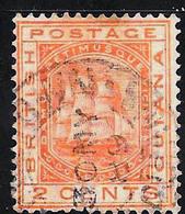 British Guiana Scott     73 Used  Fine CV 3.25 - British Guiana (...-1966)