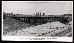 1947  --  ECLUSE BARRAGEE DE DENDERBELLE PRES DE TERMONDE   BELGIQUE  3Q446 - Non Classés