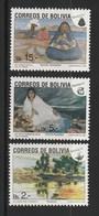 Bolivia 1991 Christmas 3v MNH - Bolivia