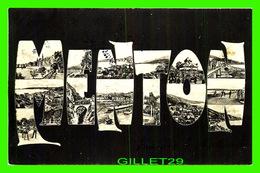 MENTON (06) - MULTIVUES - CIRCULÉE EN 1905 - - Menton