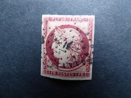 FRANCE CERES N° 6  Oblitéré     Cote 1000 €  Voir 2 Scans - 1849-1850 Cérès