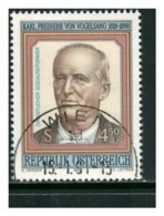 ÖSTERREICH Mi. Nr. 2008 100. Todestag Von Karl Freiherr Von Vogelsang - Used - 1945-.... 2. Republik