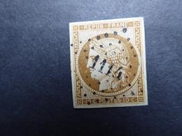 FRANCE CERES N° 1  Oblitéré     Cote 360 € Signé Brun Voir 2 Scans - 1849-1850 Cérès