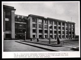1947  --  BELGIQUE  NOUVEAUX LABORATOIRES TECHNIQUES  UNIVERSITE DE GAND  3Q449 - Non Classés