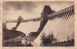 AK Möhnesee - Sperrmauer Überlauf - Stempel TheiningsenSoest Land - 1930 (38879) - Möhnetalsperre