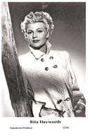 RITA HAYWORTH - Film Star Pin Up PHOTO POSTCARD - 7-296 Swiftsure Postcard - Entertainers