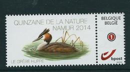 Duostamp Neuf (**)    Avec N° 4182  La Grèbe Huppé - 1985-.. Oiseaux (Buzin)