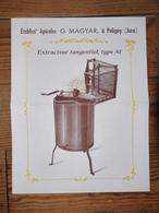 Etablissements Apicoles Georges Magyar Poligny Jura Apiculture Miel - Publicités