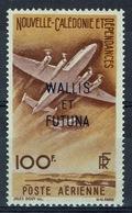 Wallis And Futuna, New Caledonia Overprint, 100f., 1949, MH VF - Airmail