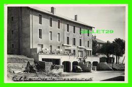 SAINT AGRÈVE (07) - L'HOTEL FAURIE - ANIMÉE - CIRCULÉE EN 1959 - - Saint Agrève