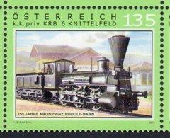 AUSTRIA, 2018, MNH,TRAINS,1v - Trains
