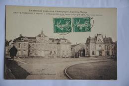 SAINTE-MENEHOULD-hotel De Ville Et Caisse D'epargne - Sainte-Menehould