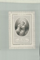 CANIVET Image Pieuse  Jesus Roi D'amour   Paris  édition R.PANNIER  Pontificat  - XIXème -(1881) Jan 2019 Caniv - Andachtsbilder