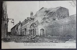 CPA 62 ARRAS - Ruines De La Guerre 14 - Rue Des Quatre Crosses - Edit Ledieu 53 - Réf. N 50 - Arras