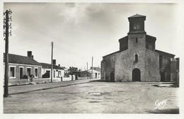 DPT 85 ILE De NOIRMOUTIER Place De L'Eglise CPSM TBE Rare 1949 - Noirmoutier