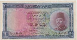 EGYPT  P. 24a 1 P 1950 VG - Egypte