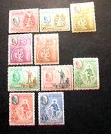 "017 -ECUADOR- 1948 - "" Franklin D. Roosevelt N. 2 Serie CMPL  ""  Valori Nuovi MNH Gomma Integra - Ecuador"