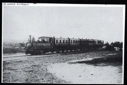 1986  --  TRAIN EN GARE DU LOROUX BOTTEREAU  DEBUT DE SIECLE   3Q454 - Non Classés