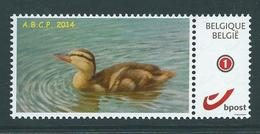 Duostamp Neuf (**)    Avec N° 4182  Canard - 1985-.. Oiseaux (Buzin)