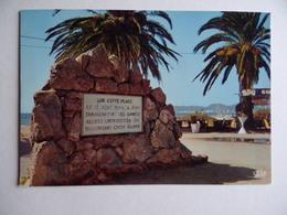 La CROIX VALMER Monument Du Débarquement De Provence 15 Août 1944 Militaire Militaria Troupe Infanterie De Marine - France
