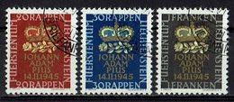 Liechtenstein 1945 // Mi. 240/242 O (033469) - Liechtenstein