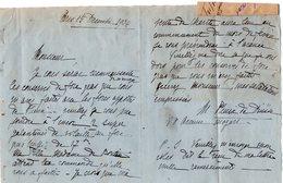 VP14.318 - LAS - PARIS 1936 - Noblesse - Lettre Autographe De Mr PLIEUX DE DIUSSE - Autographs