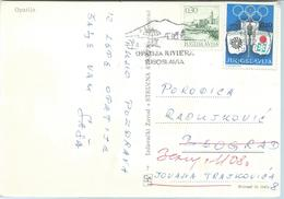 Postcard Of Yugoslavia .- Olympic Games Tax Stamp - 1945-1992 Socialist Federal Republic Of Yugoslavia