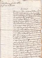 Capitán Guardia Del Real Palacio De Guatemala 1736 Juan Crisóstomo SÁENZ De NAVARRETE Virreinato De Nueva España - Guatemala