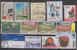 #32 EUROPA CEPT Lot De Timbres Oblitérés - Used Stamps Briefmarken Sellos Selhos - Autres