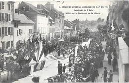 GAP (05) Concours Central Agricole 1913 Cavalcade Défilé Boulevard De La Liberté - Gap