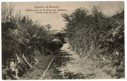 Souvenir De Waterloo - Chemin Creux Où La Charge Des Cuirassiers De Ney Brisa Son élan - 1917 - 2 Scans - Waterloo