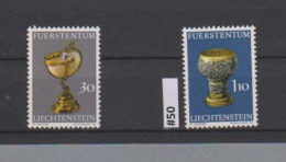 #50 LIECHTENSTEIN 1973 N° 534 536 Stamps Briefmarken Sellos Selhos - Liechtenstein