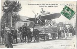 GAP (05) Concours Central Agricole 1913 Cavalcade L'avion Des Hautes Alpes - Gap