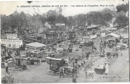GAP (05) Concours Central Agricole 1913 Vue Générale De L'Exposition Place Du Lycée - Gap